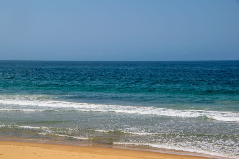 Tofo, Mozambique: View of Beach