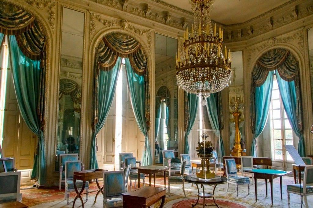 Visiting Versailles: Interior of Grand Trianon