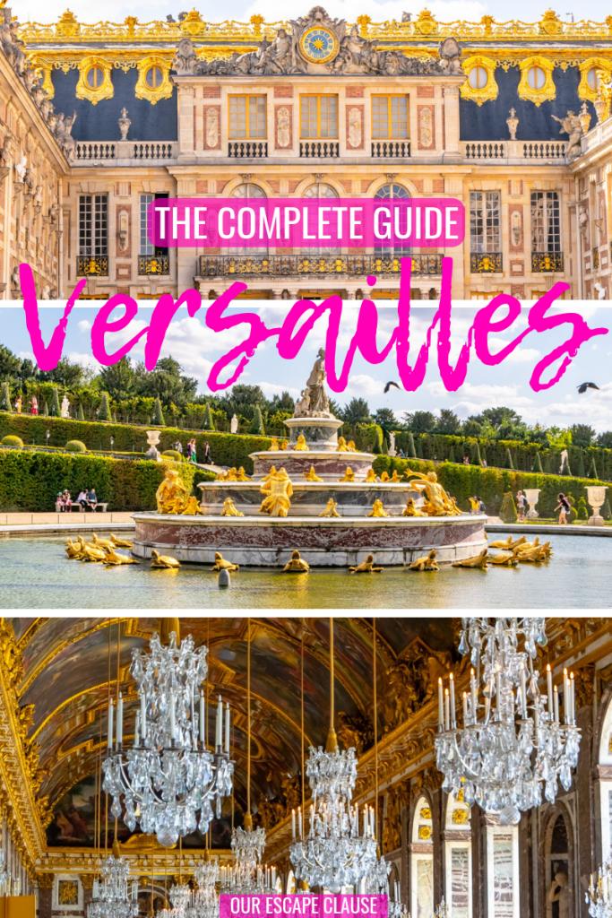 Visiting Versailles from Paris: #versailles #paris #france #parisdaytrip #travel