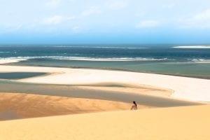 Sandbars in Vilanculos, Mozambique