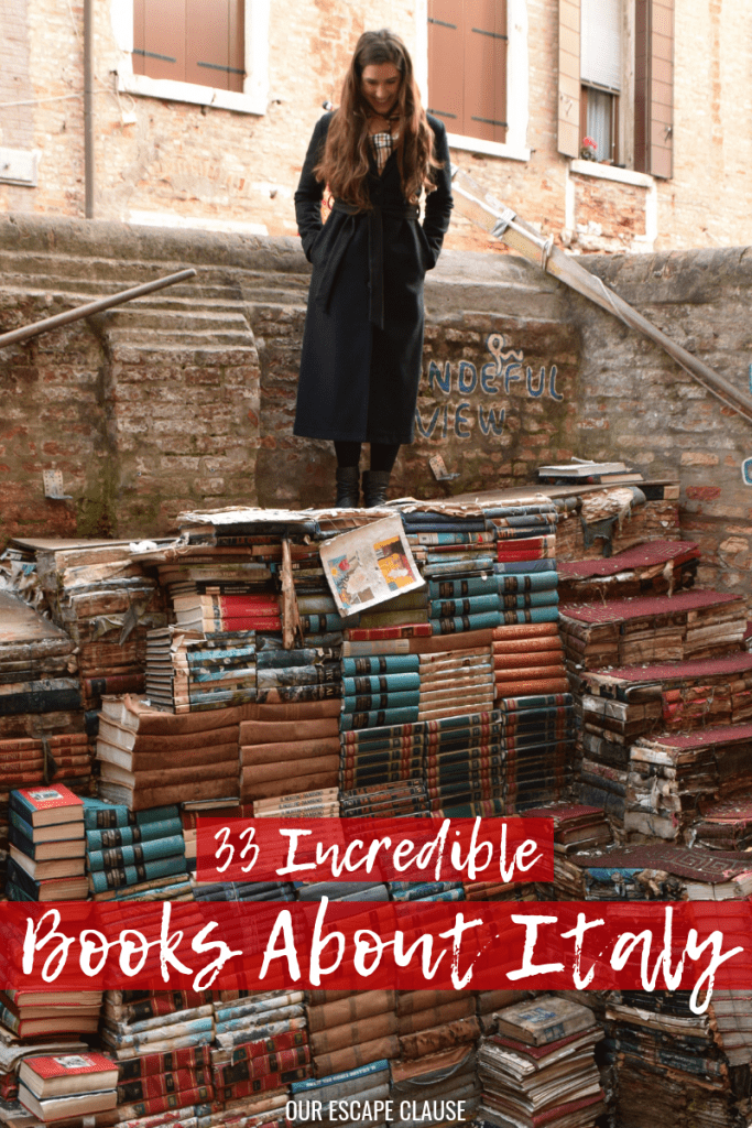 Best Books About Italy: Your Reading List! #books #italy #italybooks #travel #reading #readingaddict #booklover #bookworm