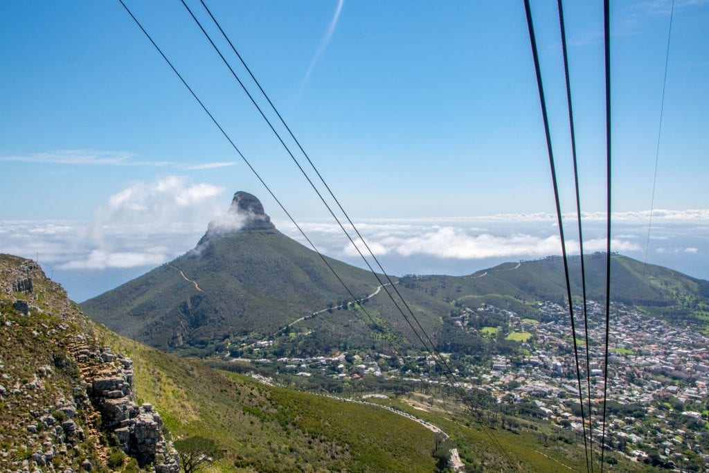 2 Weeks in South Africa Itinerary: Table Mountain Cable Car