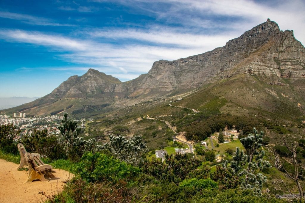 3 Day Cape Town Itinerary: View of Table Mountain