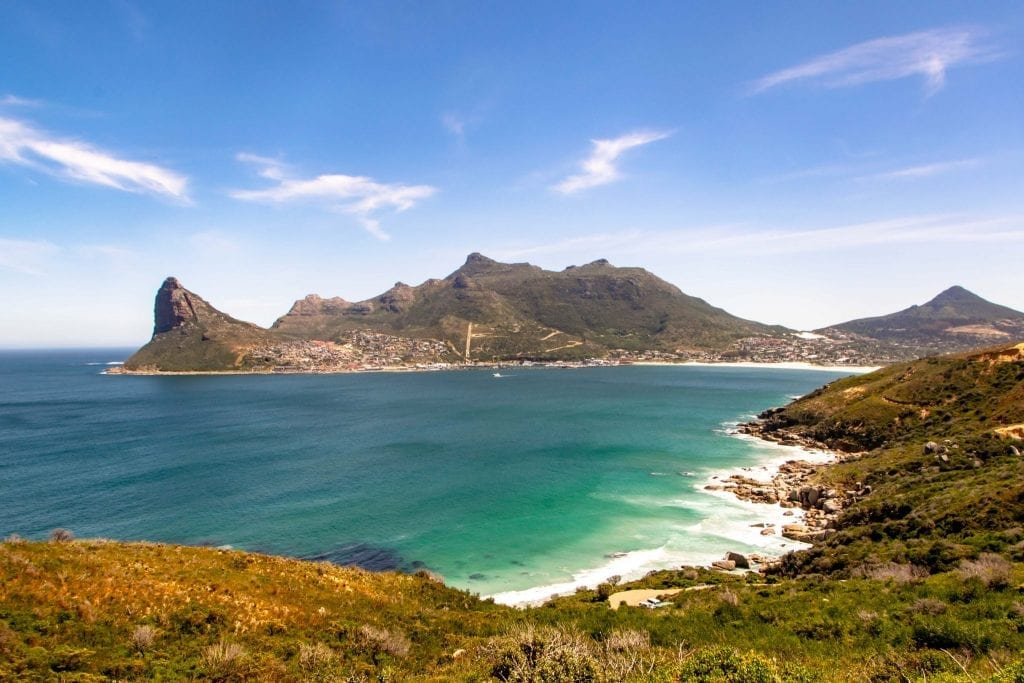 2 Weeks in South Africa Itinerary: View of Hout Bay