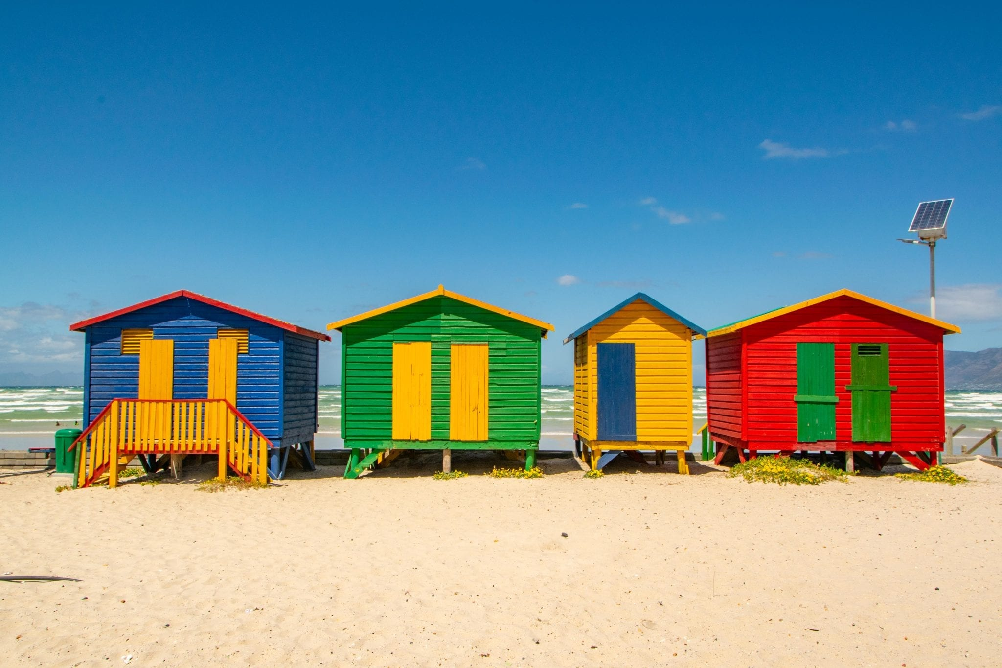 3 Days in Cape Town Itinerary: Muizenberg Beach