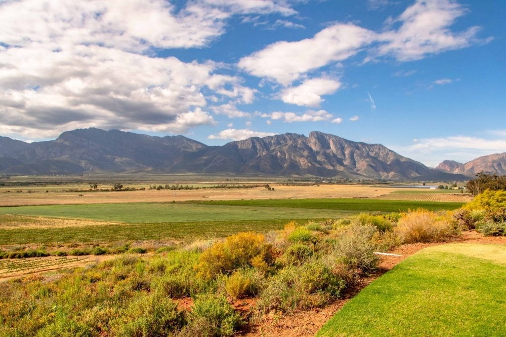 2 Weeks in South Africa Itinerary: View of Cape Winelands