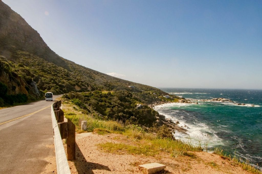 2 Week South Africa Itinerary: Coastal Road in South Africa