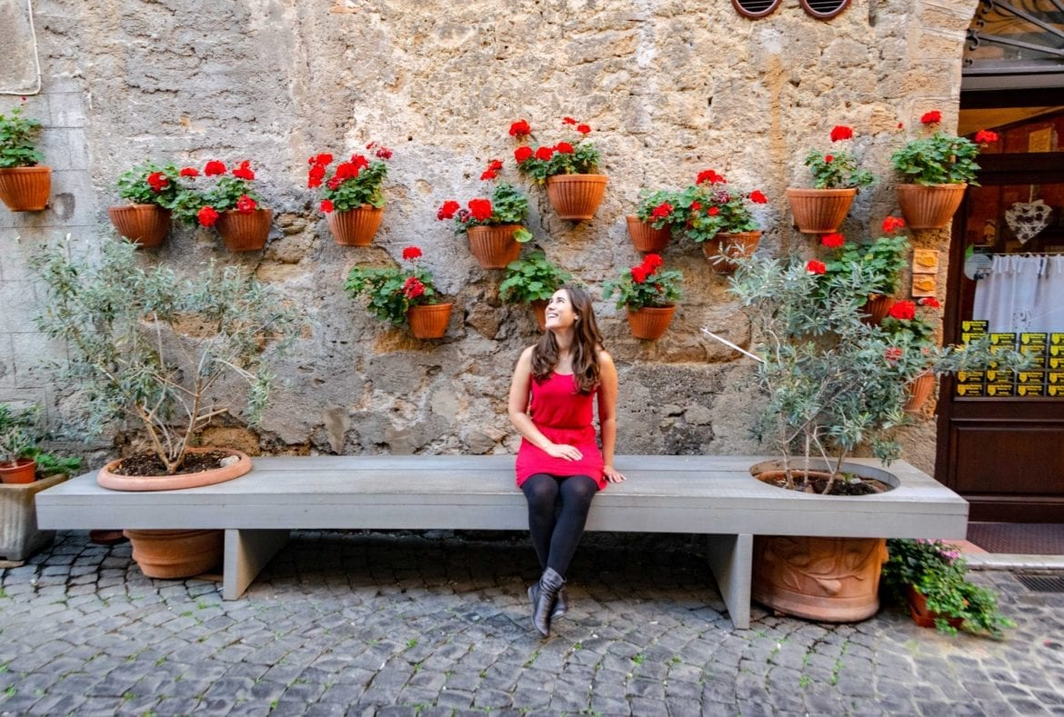 Girl in Orvieto, Italy