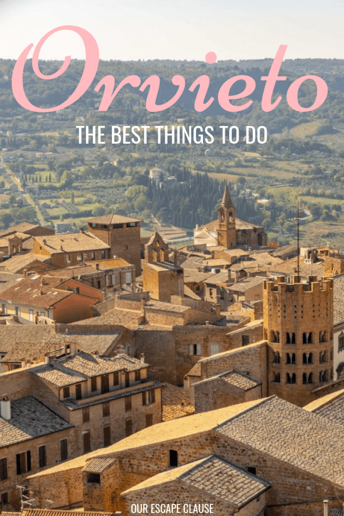 The Best Things to Do in Orvieto, Italy: #orvieto #umbria #italy #travel #italytravel #hilltoptowns