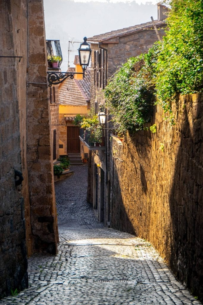 Best Things to Do in Orvieto Italy: Small Streets