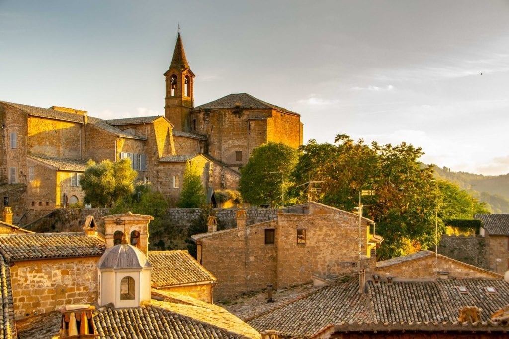 Best Things to Do in Orvieto Italy: View of Town
