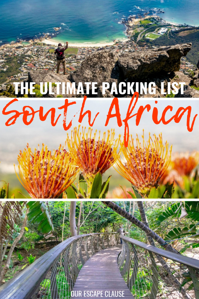 The Ultimate South Africa Packing List: #southafrica #packing #packinglist #travel