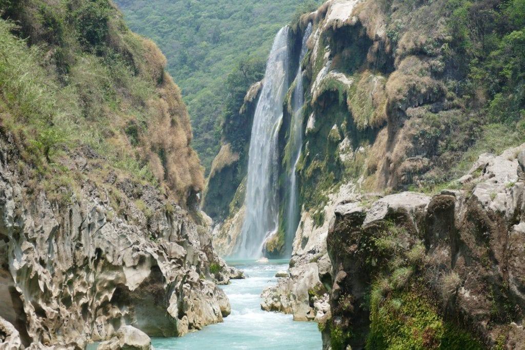 Waterfalls in Mexico: Tamul