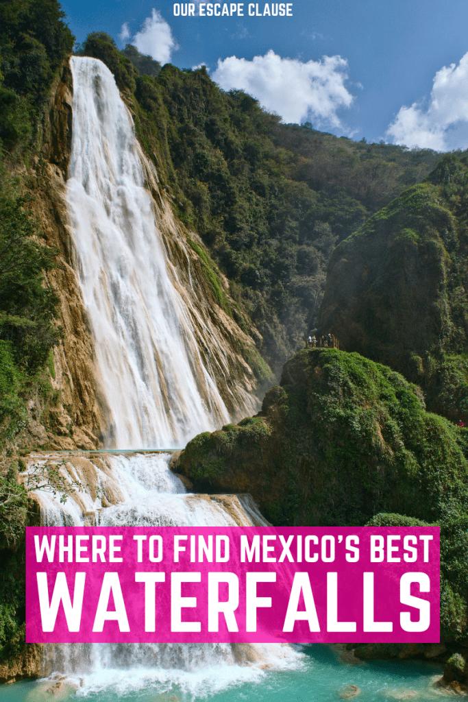 The Prettiest Waterfalls in Mexico: #mexico #waterfalls #waterfall #chiapas #travel #hiking