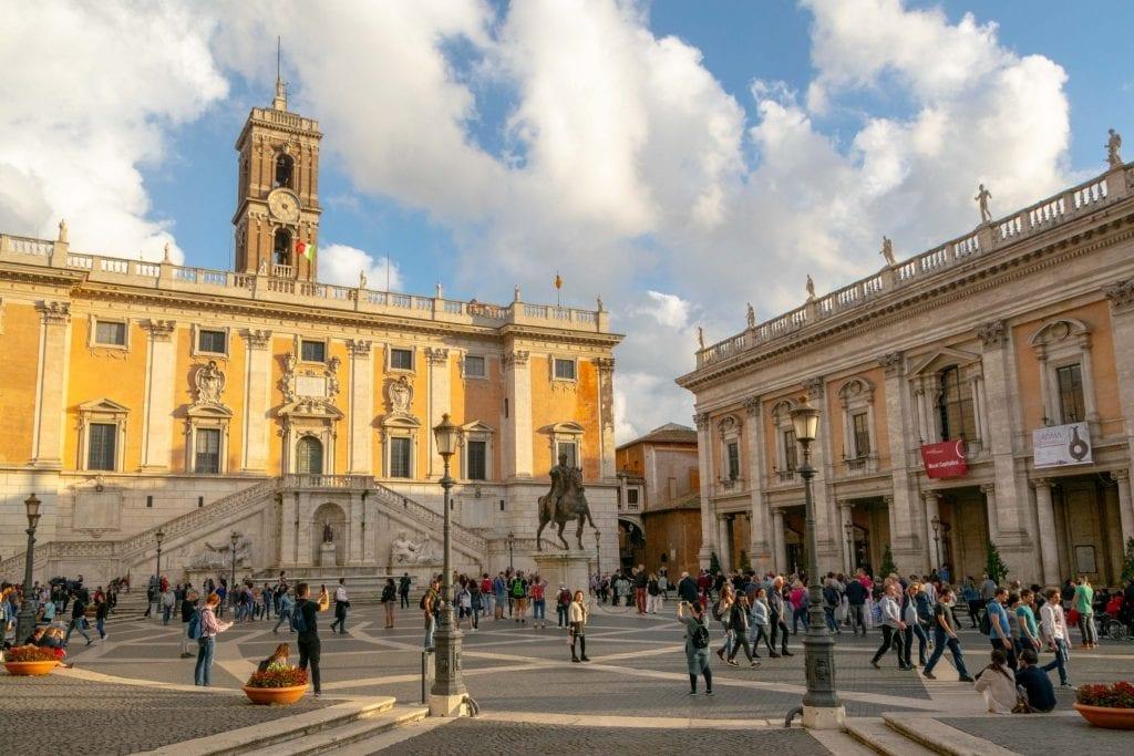 Piazzas in Rome: Piazza del Campidoglio