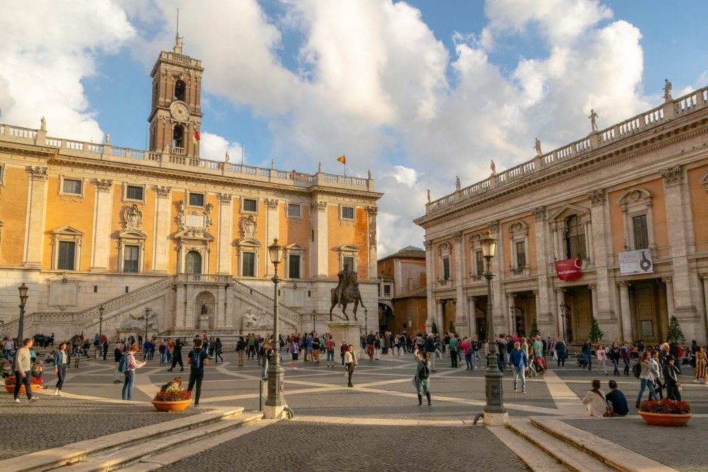 4 Days in Rome Itinerary: Piazza Campidoglio
