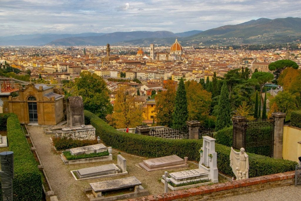 Fun Things to Do in Florence: view from San Miniato al Monre