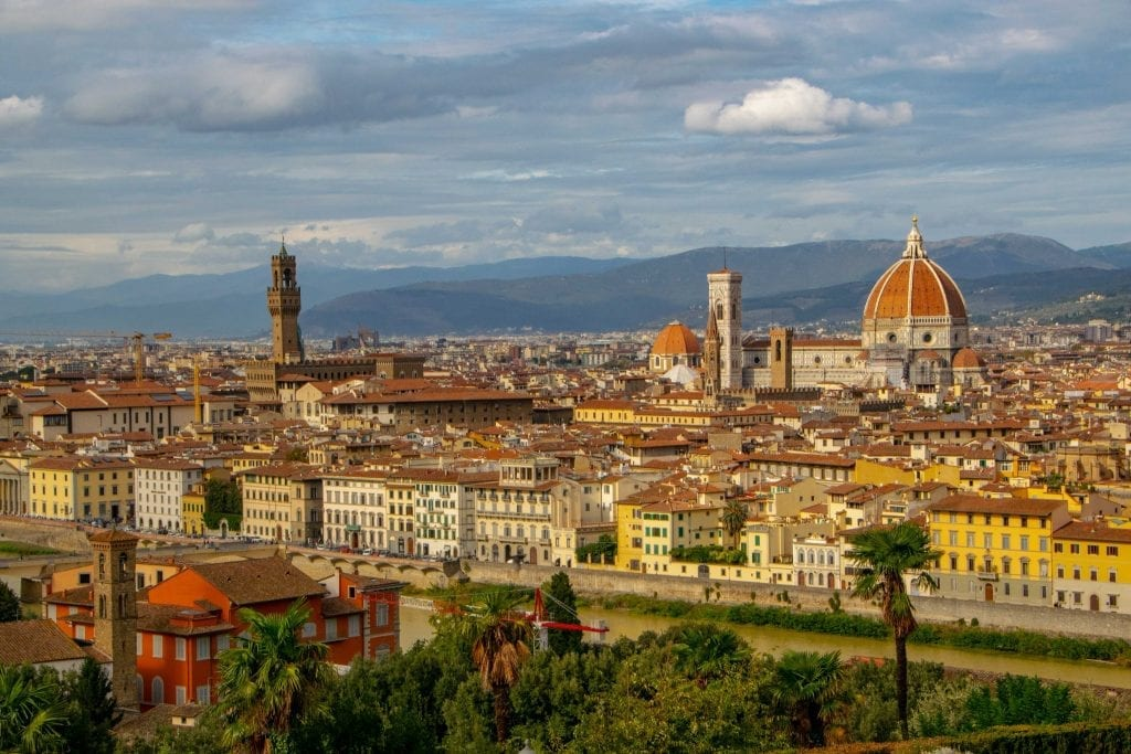Best Views of Florence: View from Piazzale Michelangelo