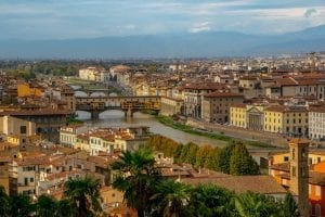 Day Trip to Florence from Rome: View of Arno River