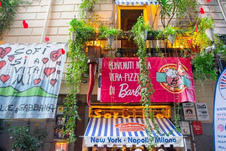 Naples Pizza Tour: Pizzeria Sorbillo