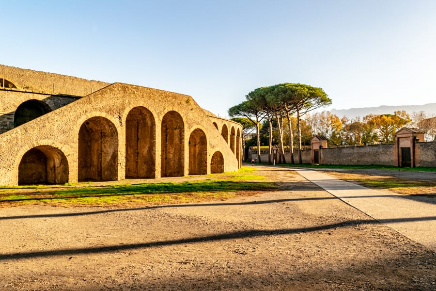 Visiting Pompeii: Amphitheater