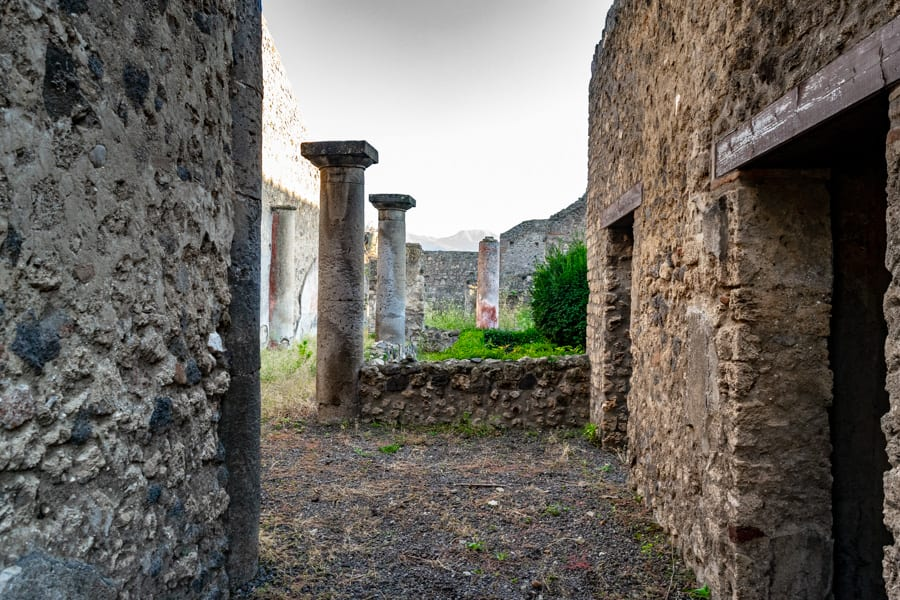 Visiting Pompeii: Ruins of a Home