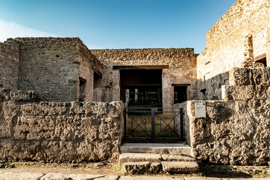 Visiting Pompeii and Mount Vesuvius: Pompeii