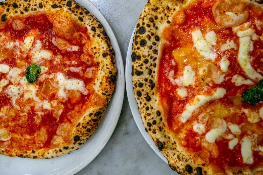 Naples Pizza Tour: Margherita Pizza