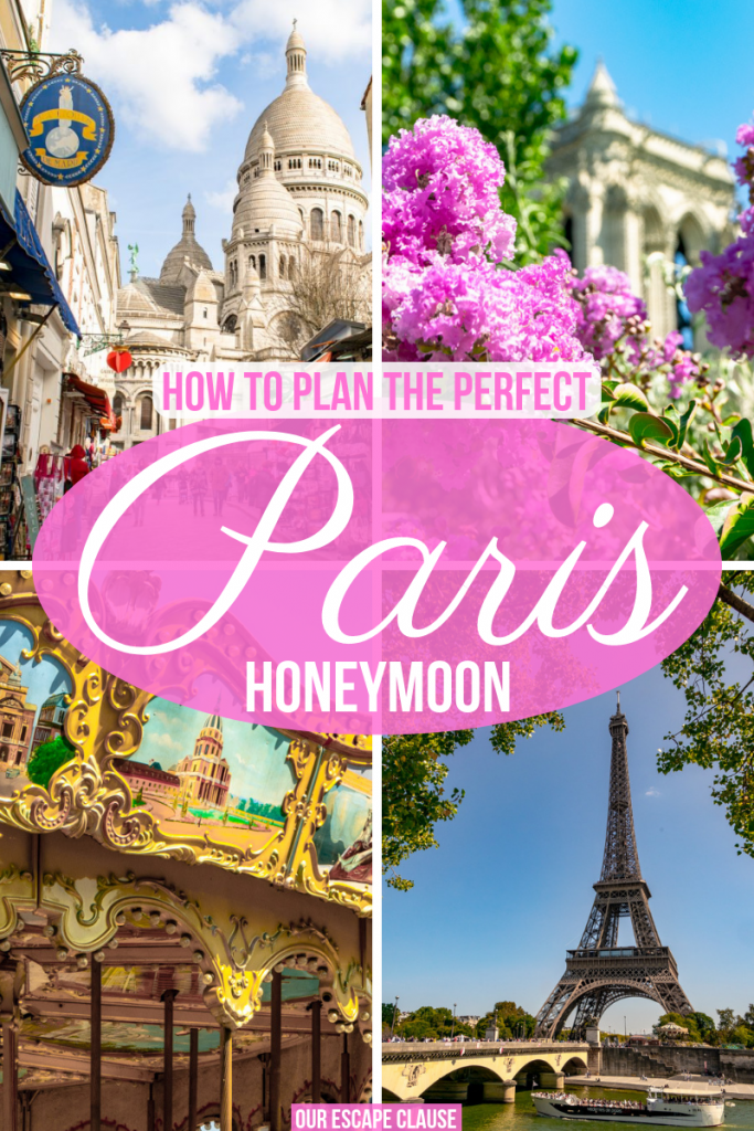 The ultimate guide to planning your honeymoon in Paris! #paris #france #honeymoon #wedding #travel