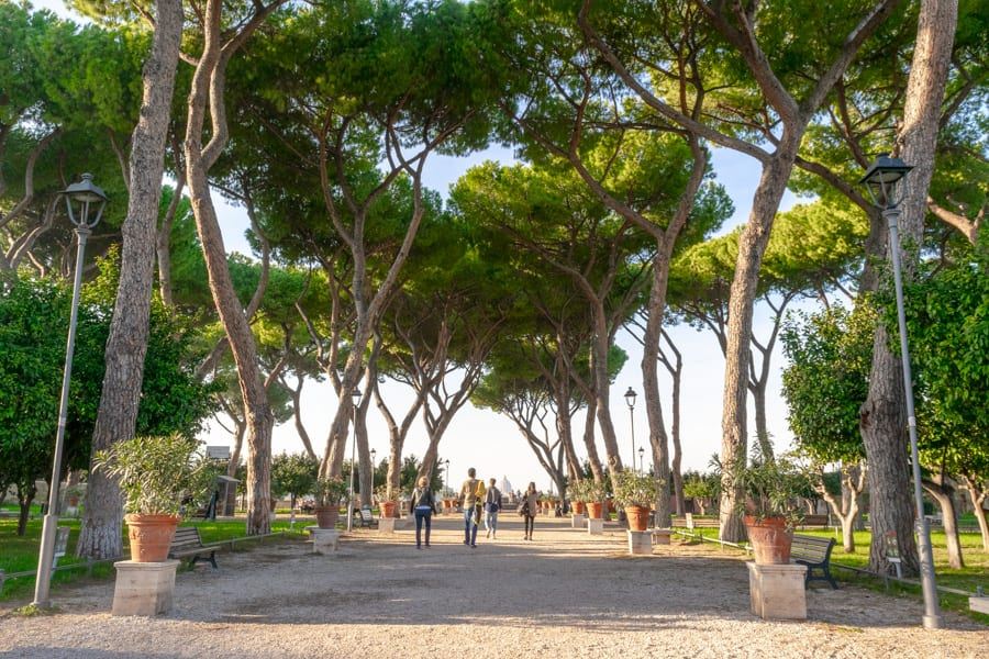 4 Days in Rome: The Orange Garden