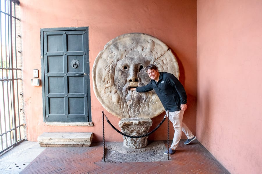 Mouth of Truth in Rome