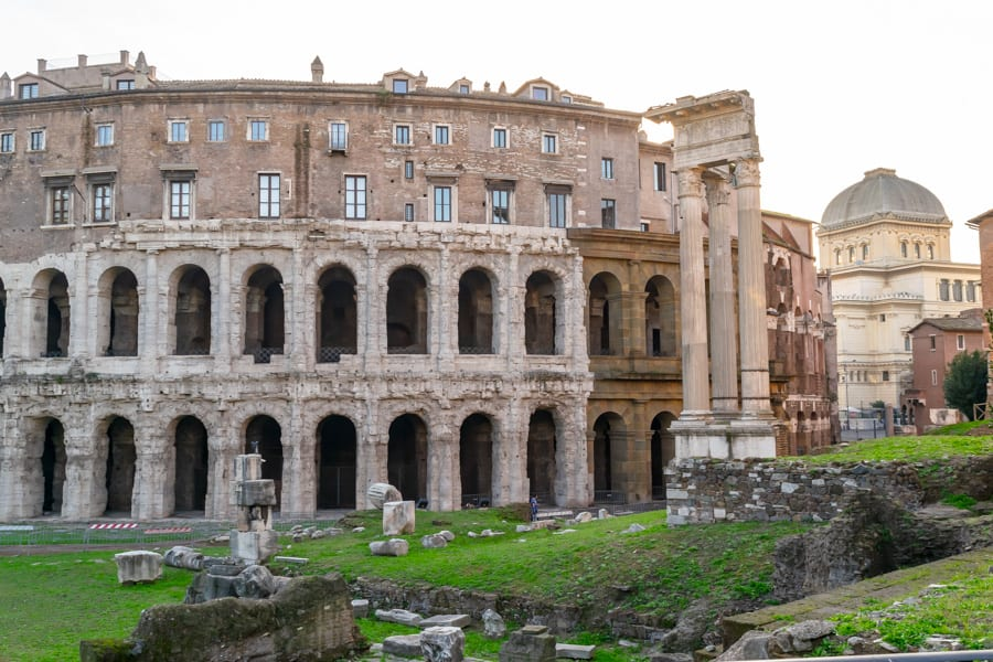 Rome off the beaten path: Teatro Marcello
