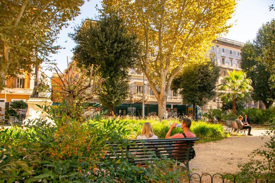 4 Days in Rome: Park in Rome