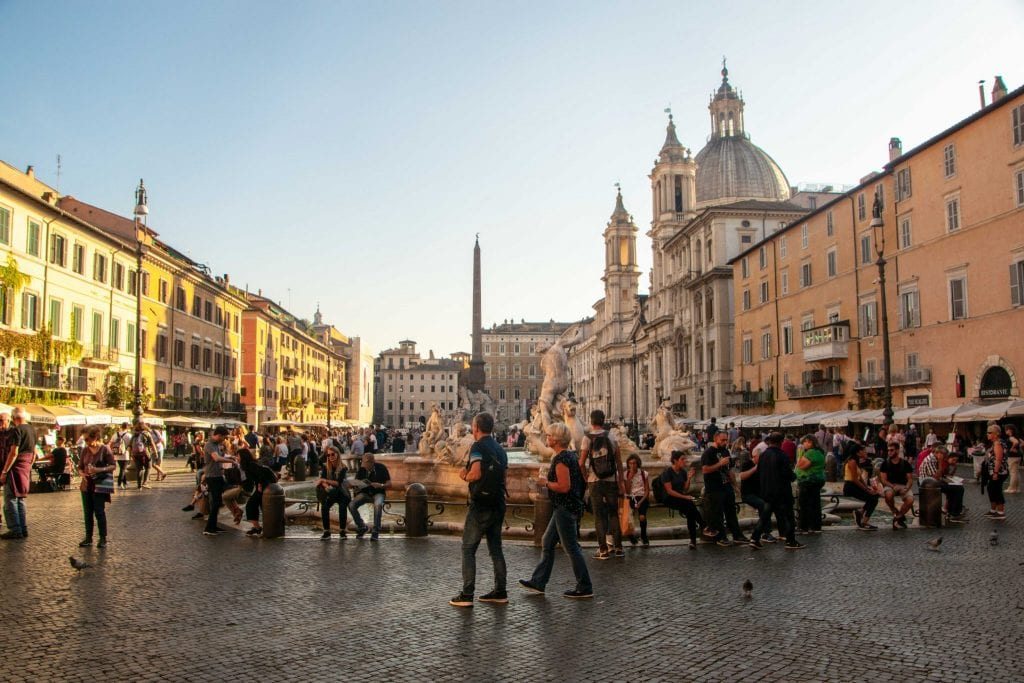 4 Days in Rome Itinerary: Piazza Navona