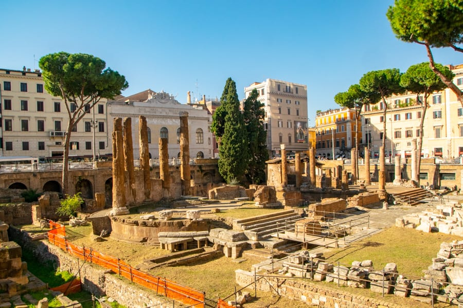 4 Days in Rome Itinerary: Site of Caesar Death