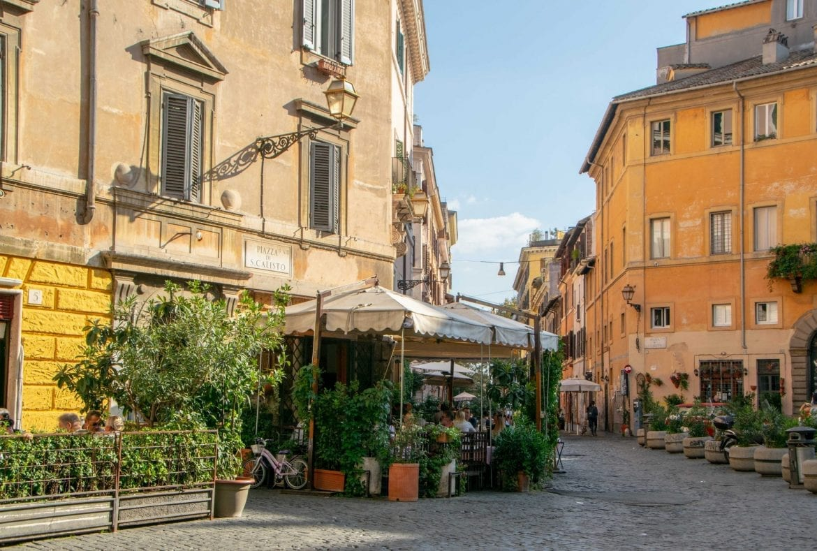 4 Days in Rome Itinerary: Trastevere