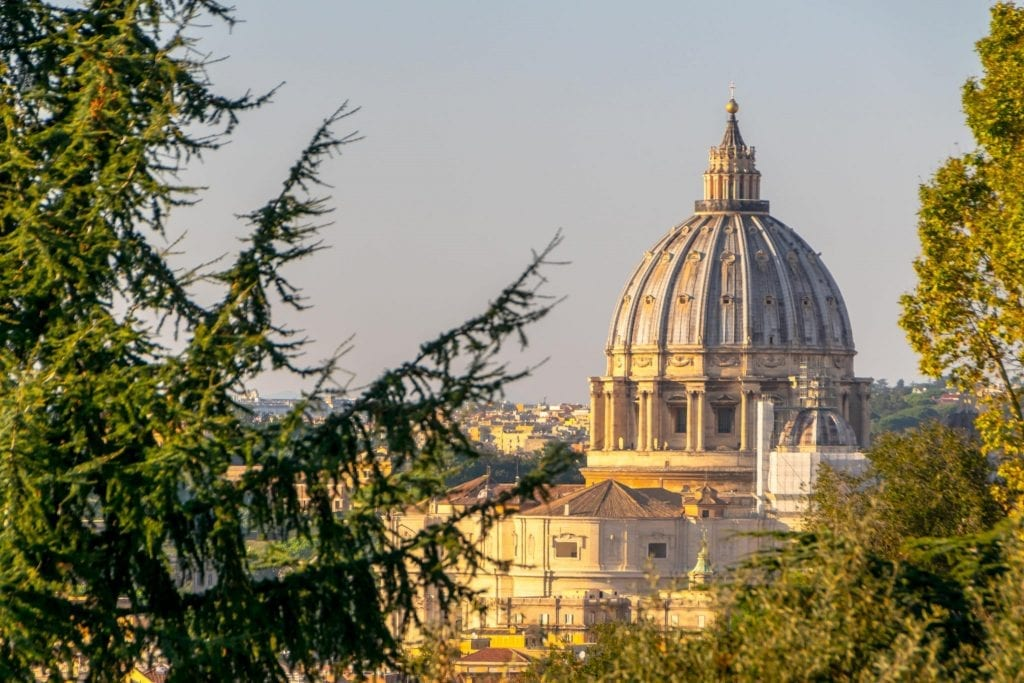 2 Days in Rome Itinerary: St. Peter's Basilica Dome