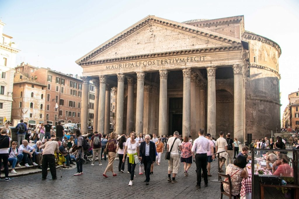 Best Rome Itinerary: Pantheon