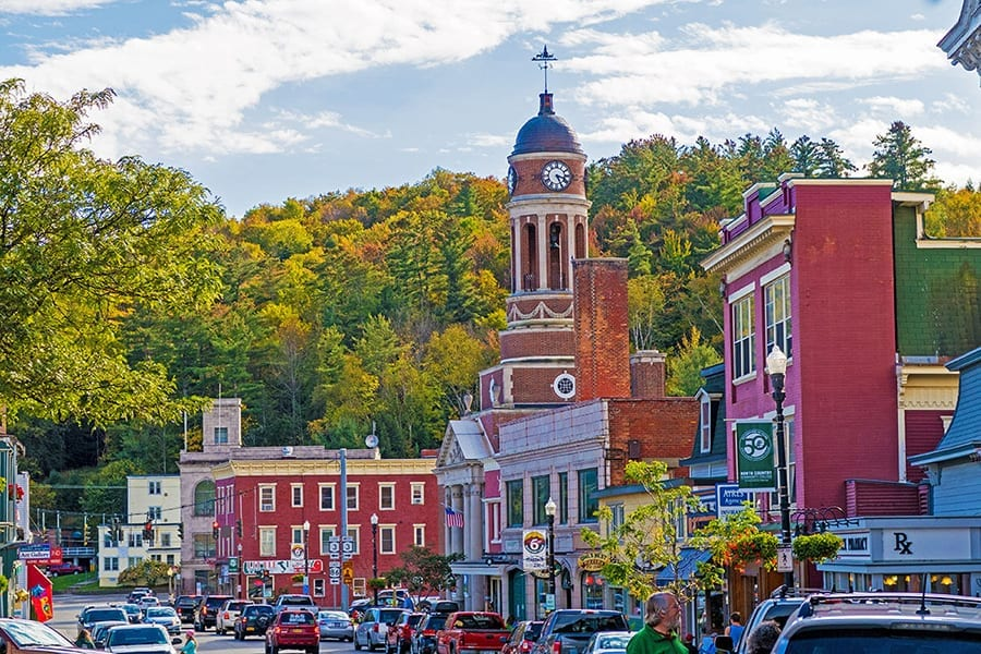 Romantic Getaways in USA: Saranac Lake
