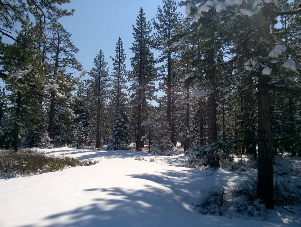 Romantic Getaways in USA: Lake Tahoe in Winter