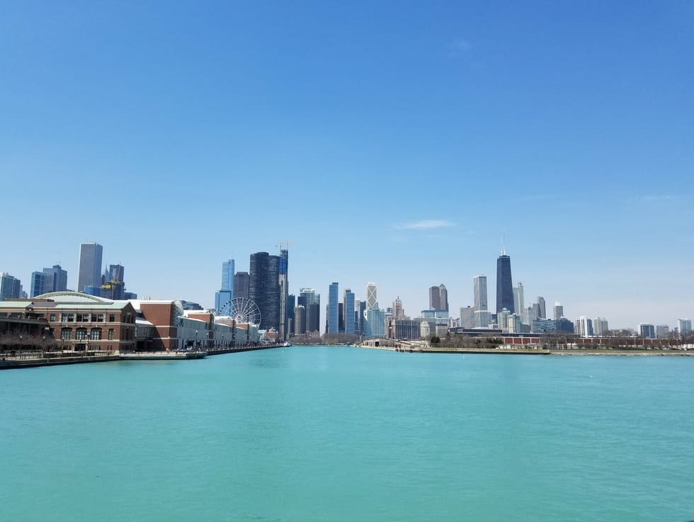 Romantic Getaways in USA: Chicago Skyline