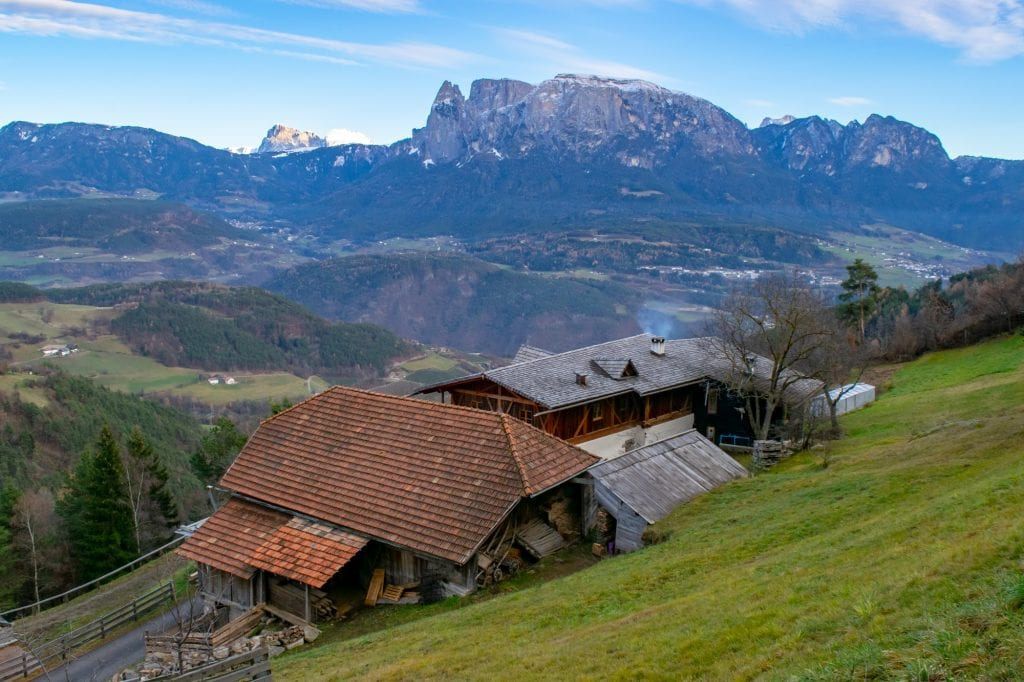 Mountain Views in South Tyrol