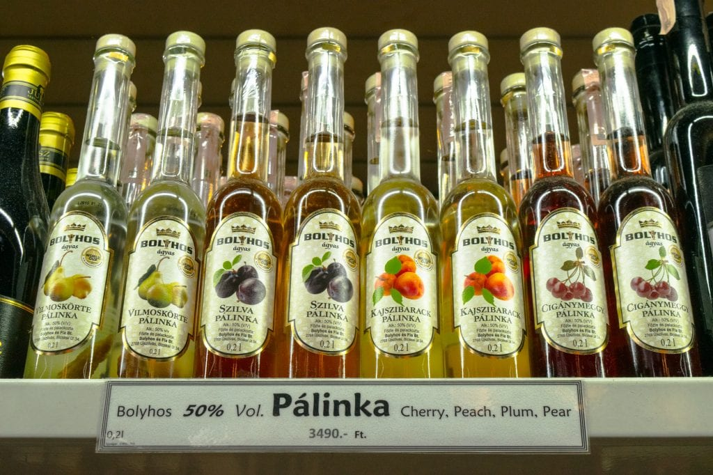 Best Food in Budapest: Palinka