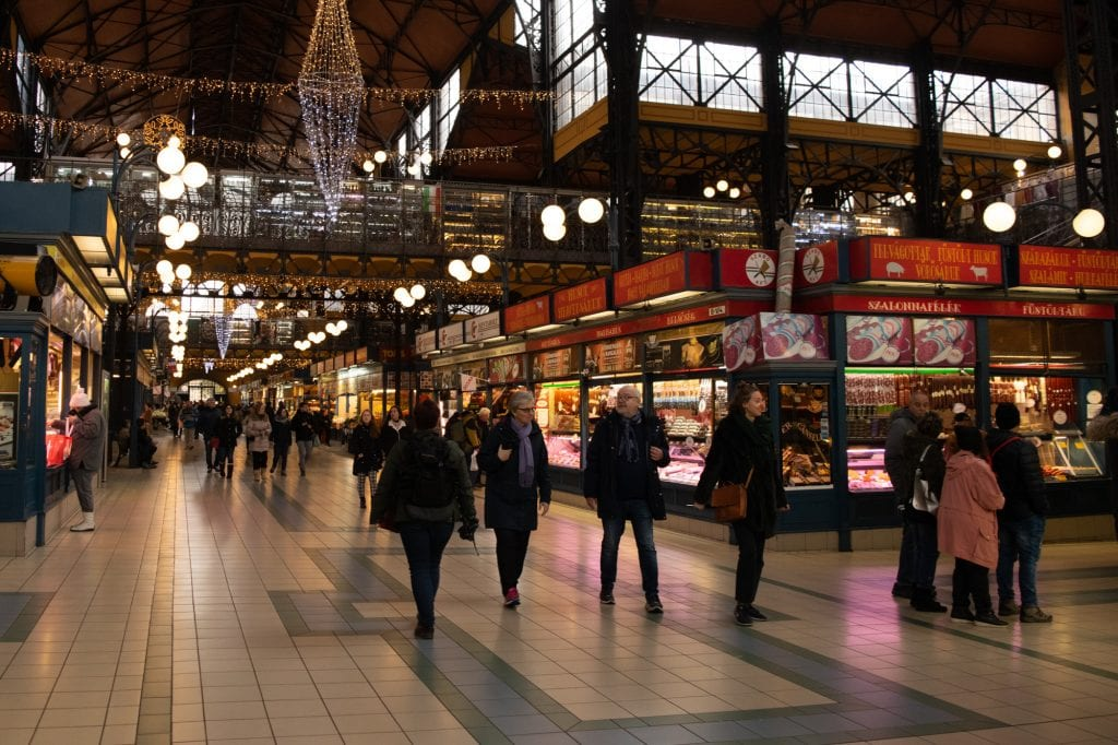 Best Food in Budapest: Central Market Hall