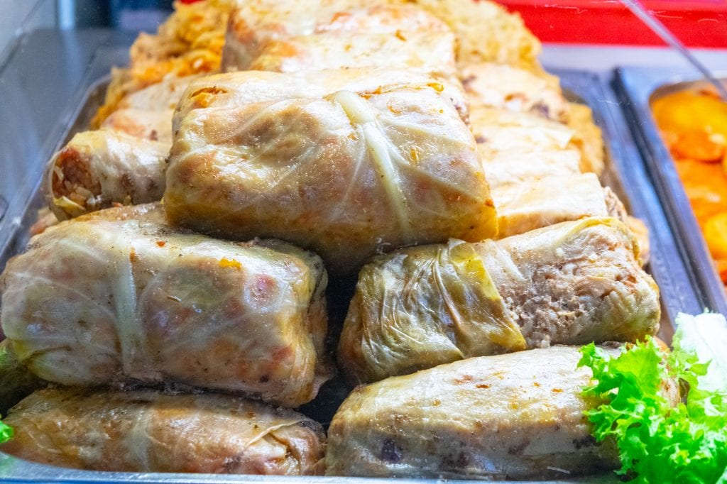 Best Food in Budapest: Stuffed Cabbage Rolls