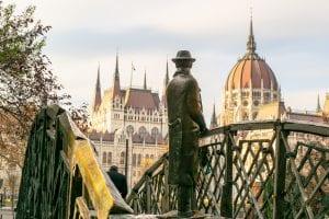 Budapest or Vienna: Statue of Imre Nagy
