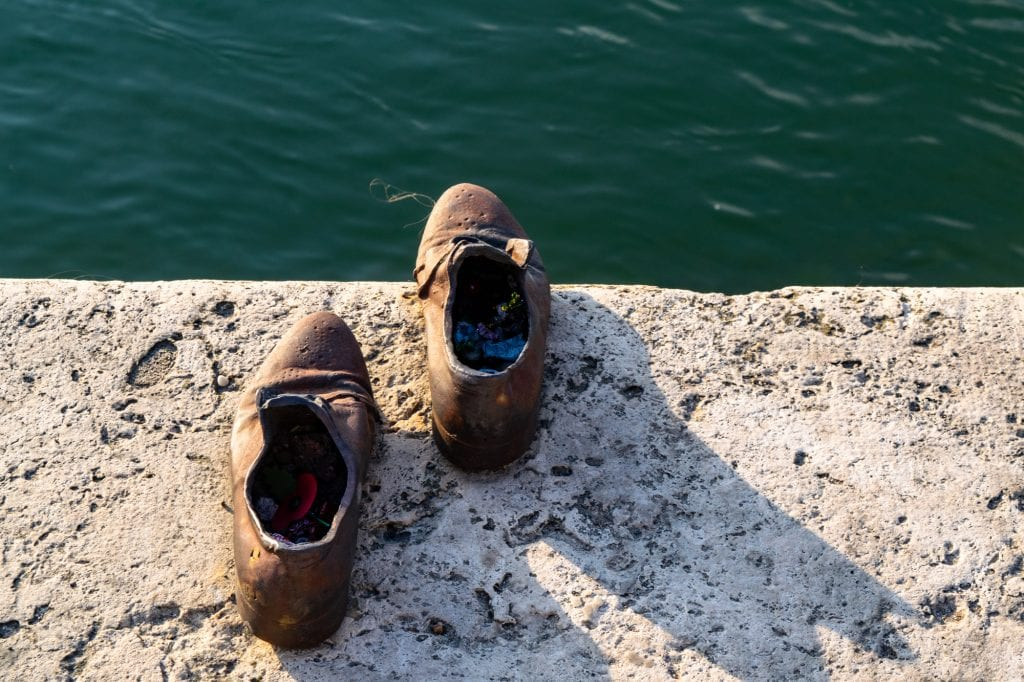 What to Do in Budapest: Shoes on the Danube Monument