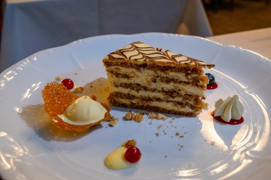 Best Food in Budapest: Esterhazy Cake