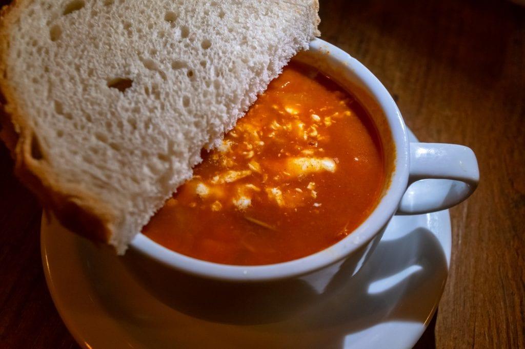 Best Food in Budapest: Jokai Bean Soup