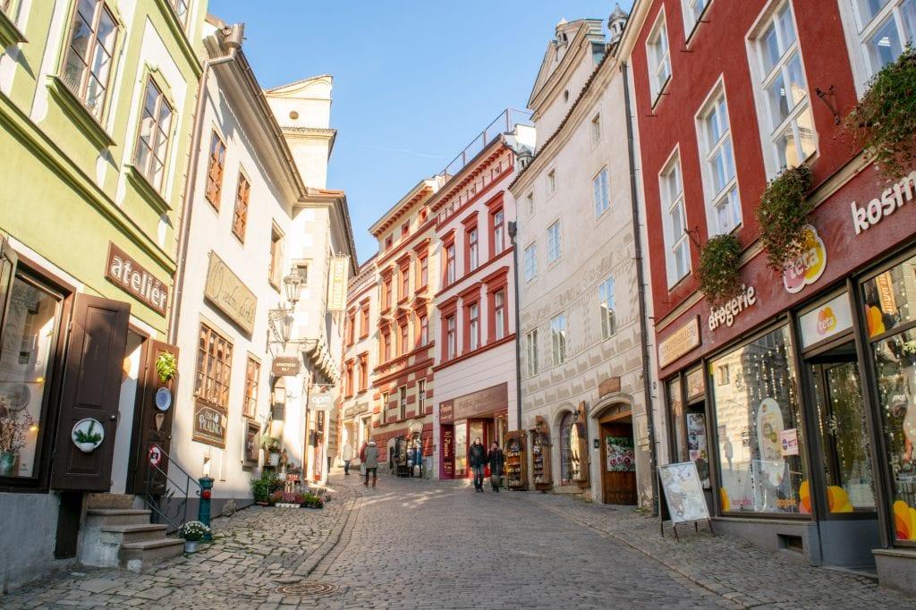 Vienna to Cesky Krumlov: Streets of Cesky Krumlov
